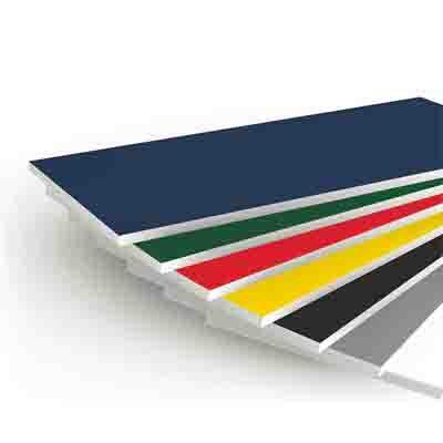 彩色PVC共挤板