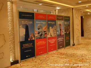 PVC广告展板